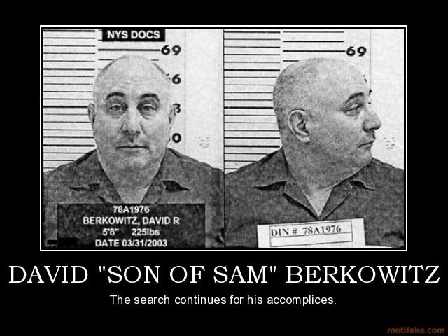 a study of the life of david berkowitz son of sam Quizlet provides berkowitz activities david richard berkowitz david richard berkowitz - son of sam.